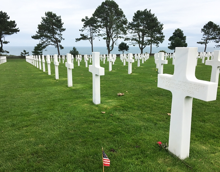 American Military Cemetery Normandy Coast