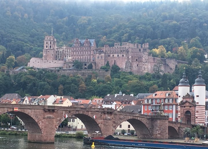 Heidelberg Castle atmosphere shot